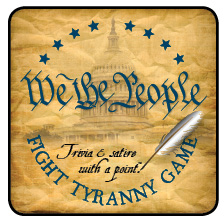 We The People Fight Tyranny box top